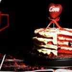 紅絲絨蛋糕#優思明5.20,我愛0距離#