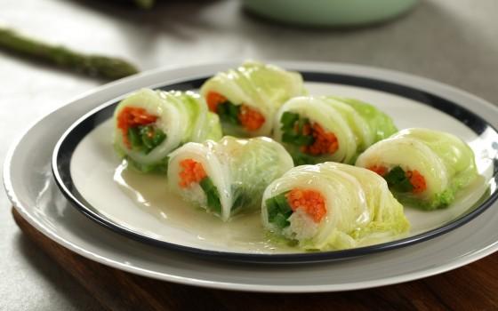 微波炉食谱-菜卷