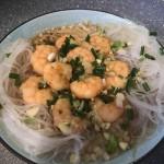 粉丝金针菇蒸虾仁