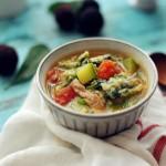 里脊肉蔬菜全麦疙瘩汤——不一样的疙瘩汤