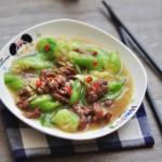 丝瓜烩牛肉