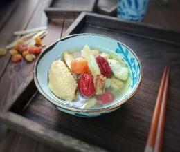 北芪桂圆红枣鸡汤