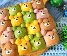 挤挤小熊面包