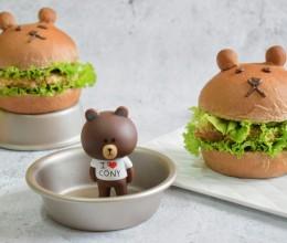 荞麦小熊汉堡