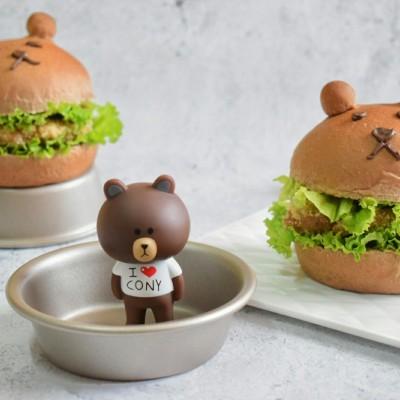 蕎麥小熊漢堡