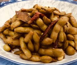 机智卤毛豆