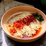 豉油剁椒金针菇