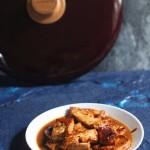 豆瓣酱煎豆腐