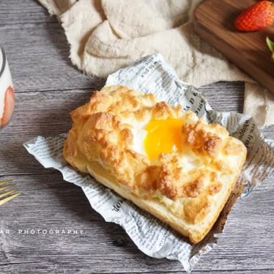 火燒云吐司 寶寶喜歡的簡單快手早餐面包片