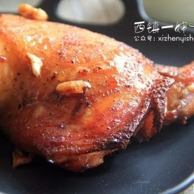 【空气炸锅版】黑椒烤鸡腿