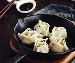 鲜嫩多汁的花式煎饺