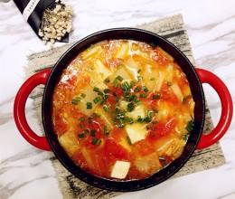 超完美的一锅端,龙利鱼豆腐煲