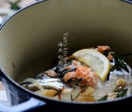 又香又嫩的夏日美食--葱香焗鱼头