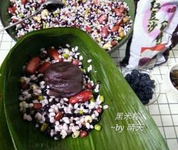 黑米八宝粽~豆沙馅
