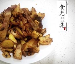 腊肉土豆块