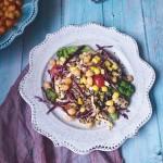 夏季轻食——鹰嘴豆藜麦沙拉