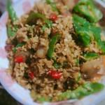腊肉炒萝卜盐菜
