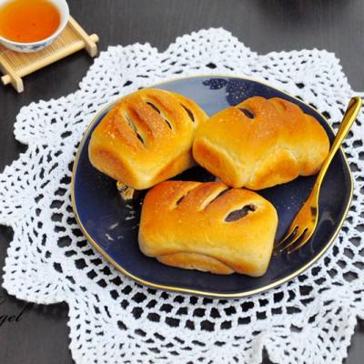 蔓越莓豆沙全麥小面包