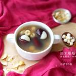 """莲子百合红枣甜汤#在""""家""""打造ins风美食#"""