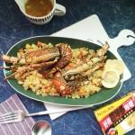 咖喱龙虾炒饭#亮出哩的厨艺#