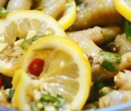 柠檬百香果鸡爪