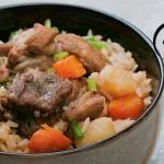 「回家菜譜」——土豆排骨燜飯