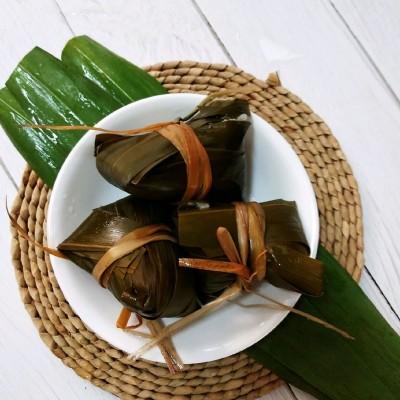 咸蛋黃肉粽