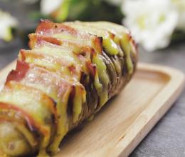 芝士烤风琴土豆