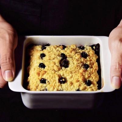 金顶蓝莓麦芬#在家打造ins风美食