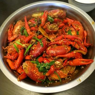麻辣蒜香小龙虾