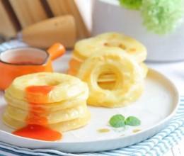 苹果甜甜圈 宝宝辅食食谱