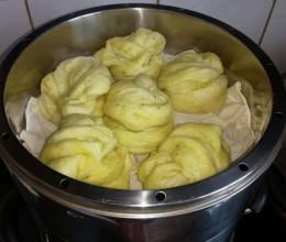 菠菜汁花卷