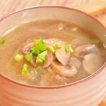 口蘑冬瓜汤