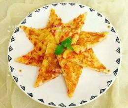 甜椒虾饼 12+