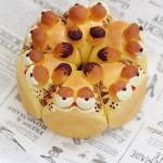 加菲猫胡萝卜面包