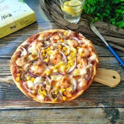 鹽田蝦披薩