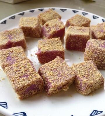 宝宝辅食-紫薯糕