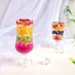 彩虹水果冰粉