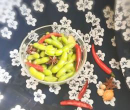 麻辣五香毛豆