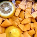 黄桃果汁罐头