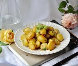 蒜香孜然小土豆