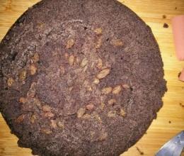 黑米面蒸糕