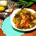 青椒茄汁虾仁