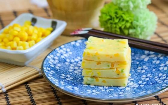 宝宝辅食食谱-南瓜玉米煎饼