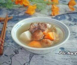 栗子红薯淮山猪骨汤