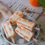 黄桃奶油冰棒