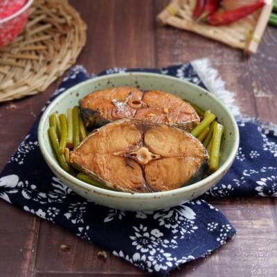 蒜薹燒鲅魚