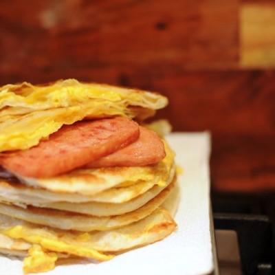 香酥鸡蛋灌饼