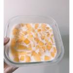 夏日水果奶冻