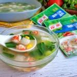 快手时蔬海鲜汤